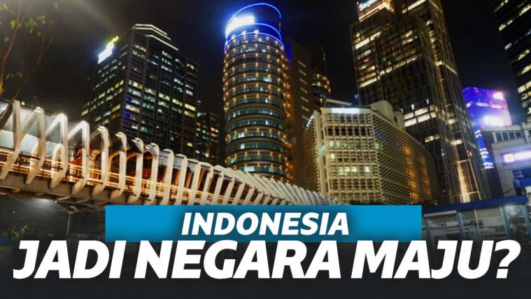 Ekonomi Jokowi Mandek di 5%, Kok Bisa Indonesia Jadi Negara Maju? | Keepo.me