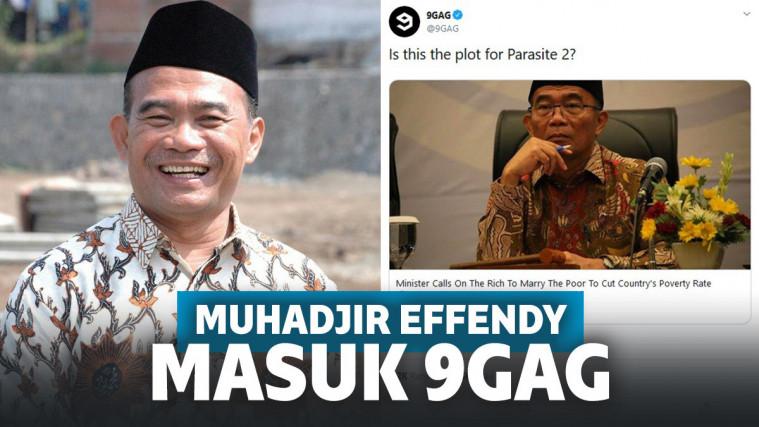 Heboh Menteri Muhadjir Effendy Masuk 9GAG, Netizen: Pelawak Kaliber Dunia | Keepo.me