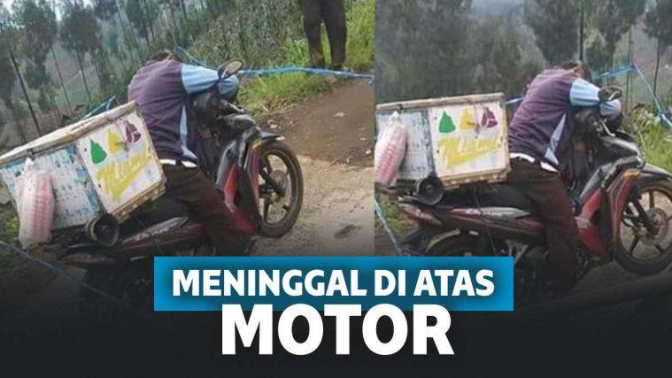 Meninggal di atas motor