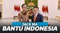 Bantu indonesia Hadapi Corona, Jack Sumbang 2 Juta Masker dan Alat tes Corona