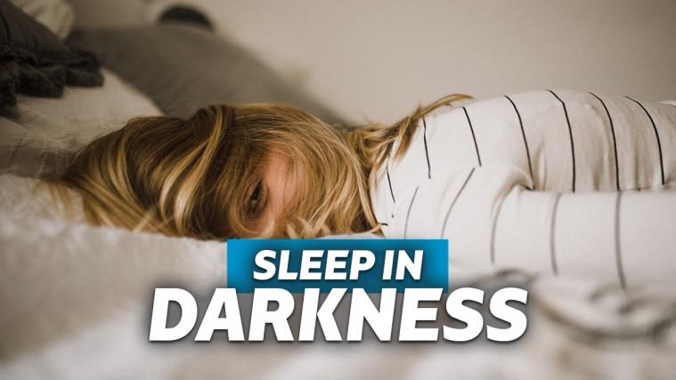 Studi: Tidur dalam Gelap Tanpa Menyalakan Lampu Adalah Awal dari Awet Muda | Keepo.me
