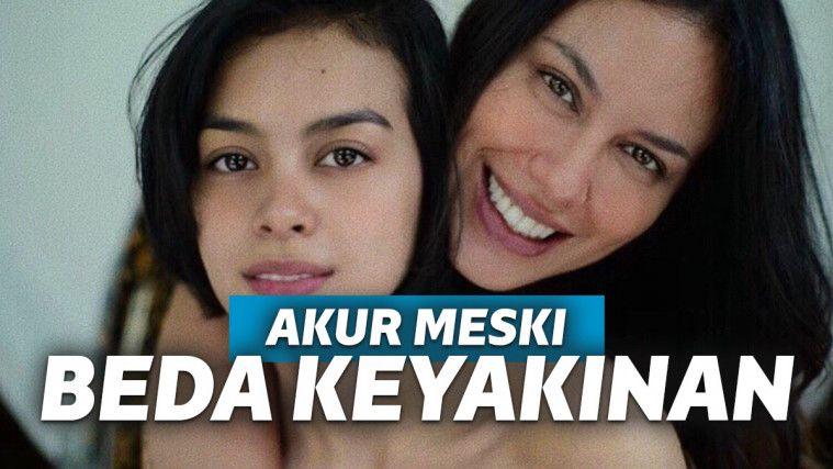Meski Beda Agama, Selebriti Indonesia Ini Tetap Harmonis dengan Orangtuanya | Keepo.me