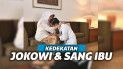 Jokowi dan sang ibu