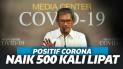 Umumkan Ada 1.046 Kasus, Kasus Positif Corona Indonesia Naik 500 Kali Lipat