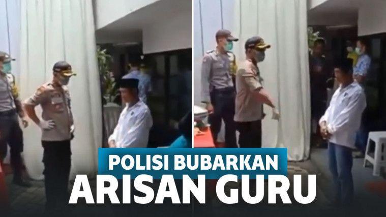 Polisi bentak penyelenggara acara