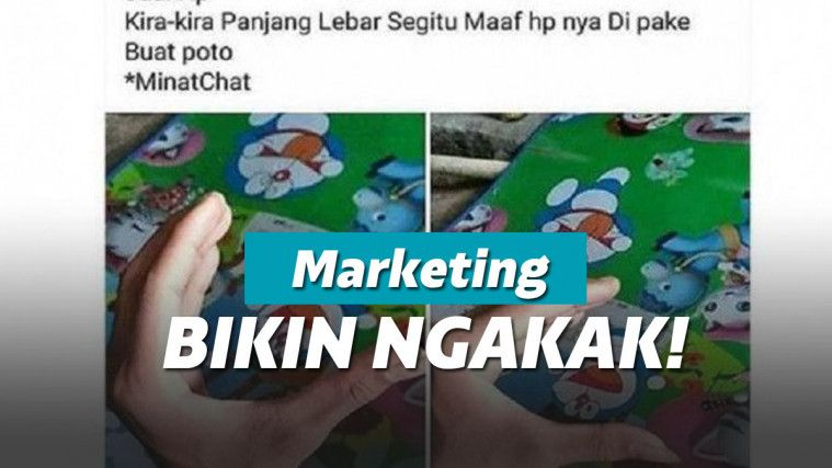 Marketing Tingkat Dewa! Status Jual Handphone di Facebook Ini Nyeleneh Banget | Keepo.me