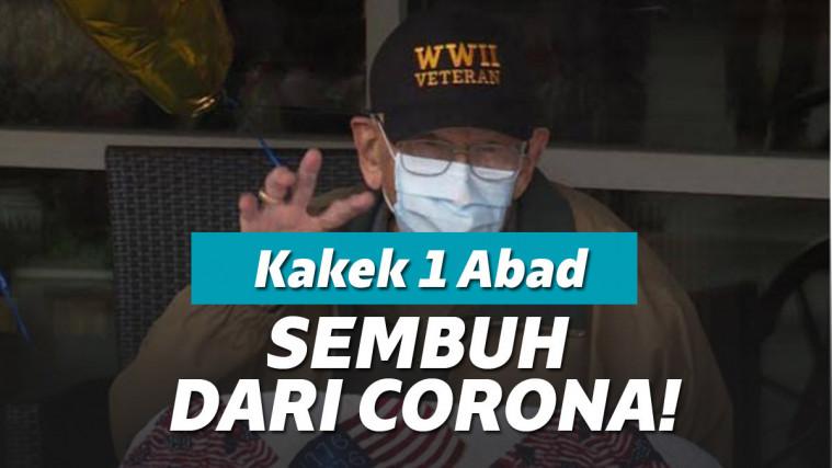 Kakek Berusia 104 Tahun Ini Berhasil Sembuh Dari Corona | Keepo.me