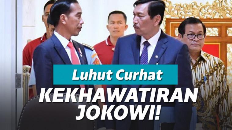 Gara-gara Corona, Luhut Ungkap Kekhawatiran Presiden Jokowi Tentang Nasib Rakyat Kecil! | Keepo.me
