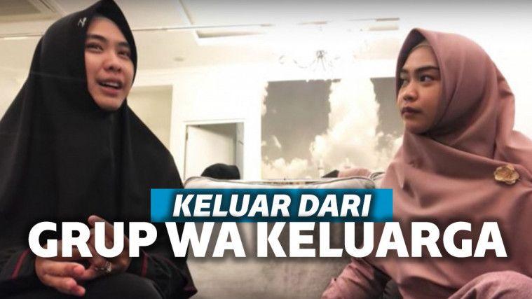 Dinasihati Oki Setiana Dewi karena Berbuat Salah, Ria Ricis Malah Keluar dari Grup WA Keluarga | Keepo.me