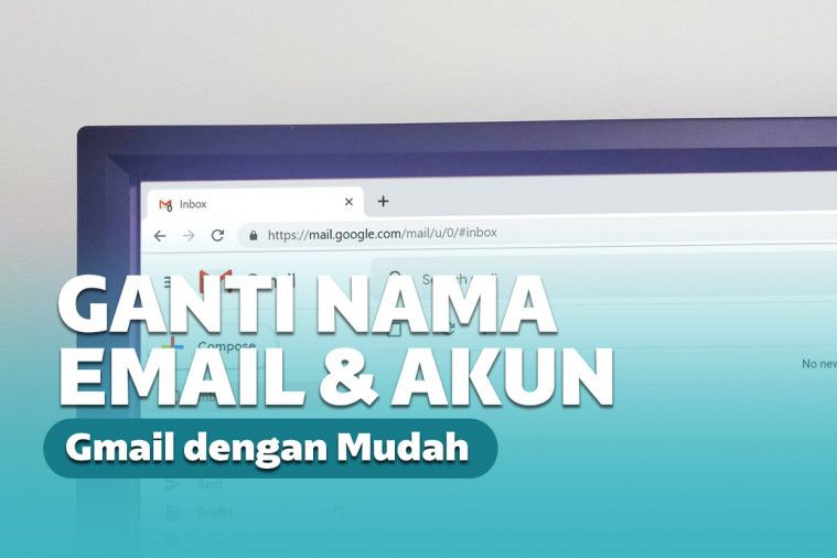 cara mengubah alamat email dan nama