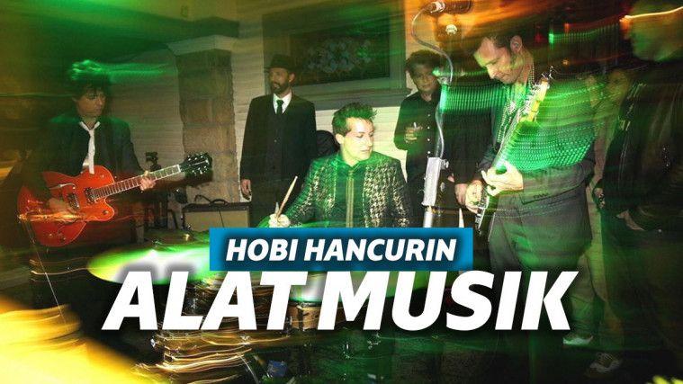 5 Band Ini Hobi Banget Hancurin Alat Musik Saat Manggung | Keepo.me