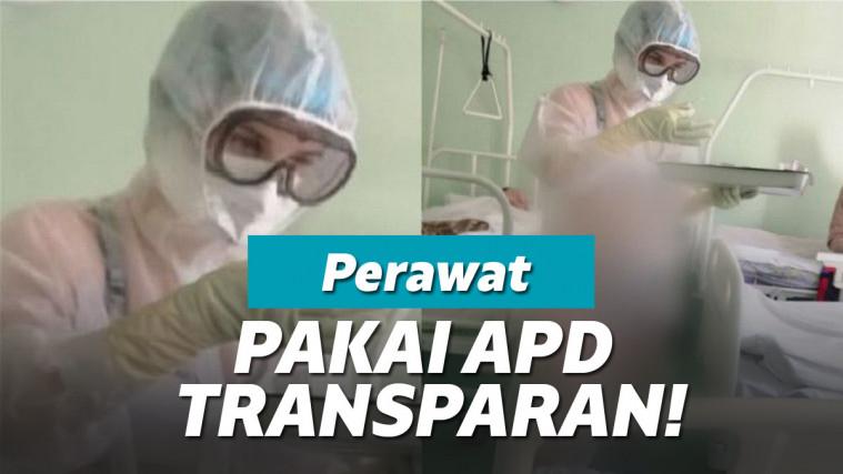 Perawat ini Mendadak Viral Gara-gara Pakai Bikini dan APD Transparan! | Keepo.me