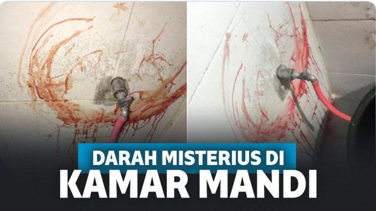 Viral Darah Misterius Muncul di Kamar Mandi, Pengakuan Netizen Ini Bikin Merinding! | Keepo.me