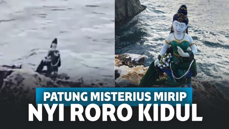 Bikin Heboh! Patung Nyi Roro Kidul Muncul Secara Misterius di Tepi Pantai Nusa Dua Bali | Keepo.me