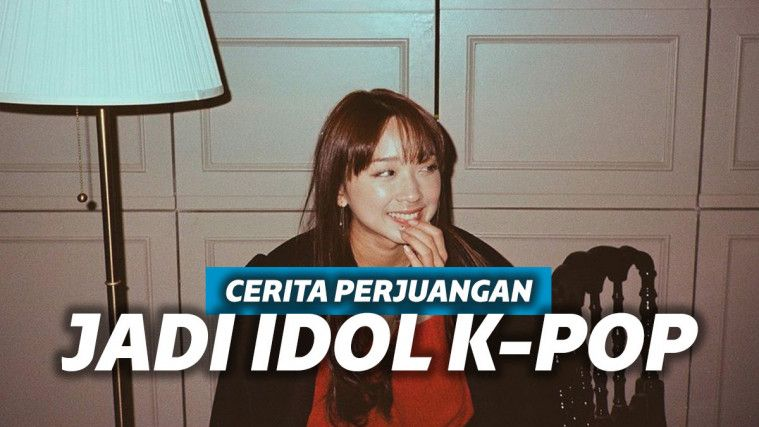 Sama Sekali Tak Mulus, Dita Karang Ceritakan Perjuangannya Jadi Idol K-Pop | Keepo.me