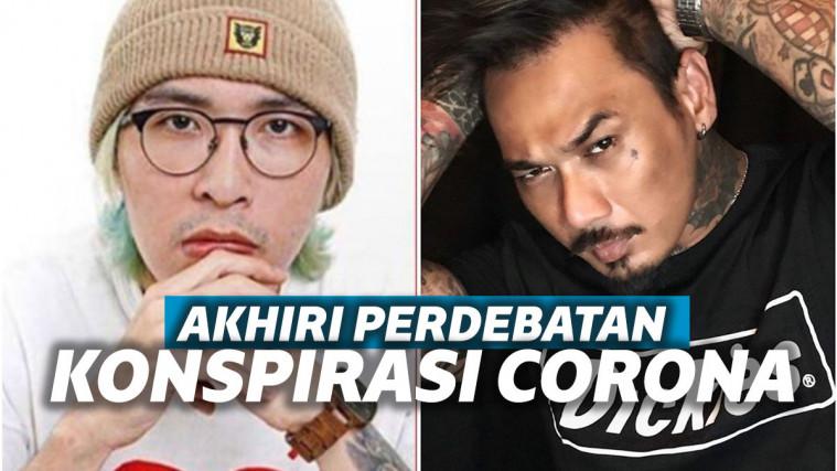 Sempat Ributkan Teori Konspirasi, Jerinx dan Dokter Tirta Sepakati Project Lagu, Netizen: Duo Pansos! | Keepo.me