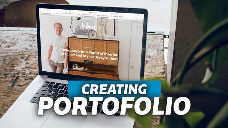 Cara Membuat Portofolio yang Menarik Lengkap dengan Inspirasi Desainnya | Keepo.me