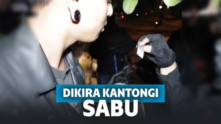 Kocak! 'Prank' Polisi Bawa Garam Menyerupai Sabu, Alasan Pria Ini Bikin Geleng Kepala | Keepo.me