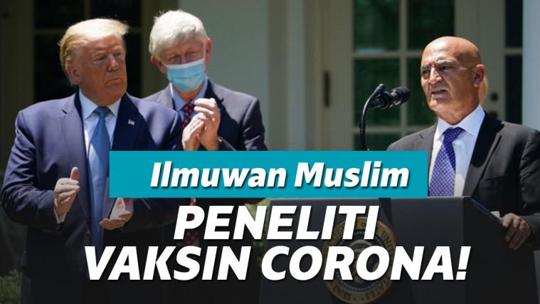 Buktikan Anti Rasis, Donald Trump Kini Tunjuk Ilmuwan Muslim untuk Kembangkan Vaksin Corona! | Keepo.me