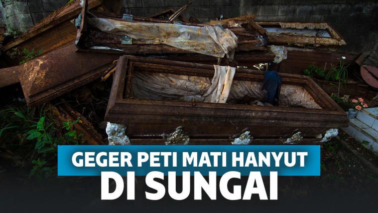 Heboh Peti Mati Hanyut di Sungai Belo Sulsel Gegerkan Warga, Polisi Turun Tangan! | Keepo.me