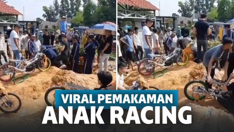 Viral Pemakanan Anak Racing Motor Digeber di Tengah Kuburan, Netizen: Bukannya Diadzanin | Keepo.me