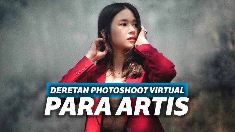Artistik! Ini Deretan Selebriti yang Lakukan Virtual Photoshoot #DiRumahAja | Keepo.me