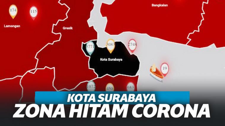 Kota Surabaya Jadi Zona Hitam Pertama di Indonesia, Ini Penjelasan Gugus Tugas Covid-19! | Keepo.me