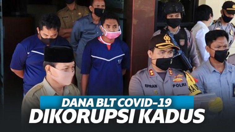 Tak Punya Nurani! Kepala Dusun dan Anggota BPD Berkomplot Korupsi BLT Covid-19 di Sumsel! | Keepo.me