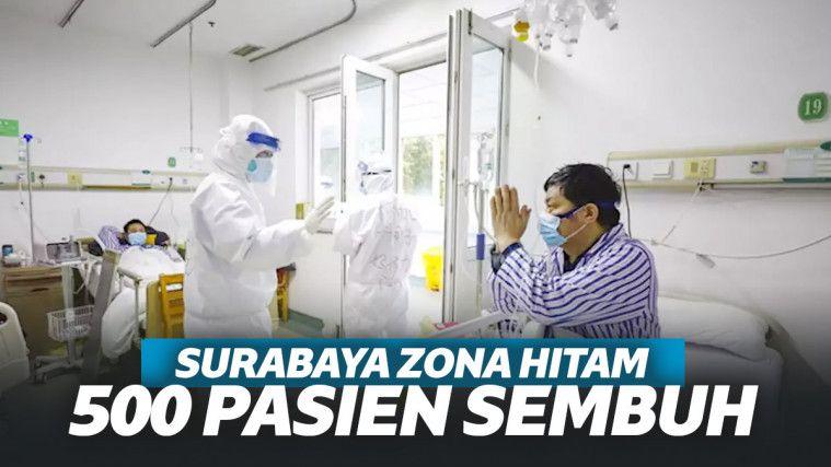 Meski Sempat Disebut Zona Hitam, Ada 500 Pasien Positif Corona di Surabaya Yang Sembuh! | Keepo.me