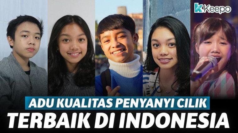 Adu Kualitas 5 Penyanyi Cilik Terbaik Indonesia | Keepo.me