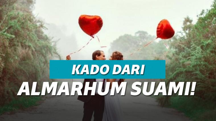 Wanita Ini Dapat Kado Anniversary Dari Almarhum Suami