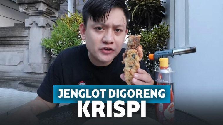 Heboh YouTuber Ini Goreng Jenglot Jadi Krispi