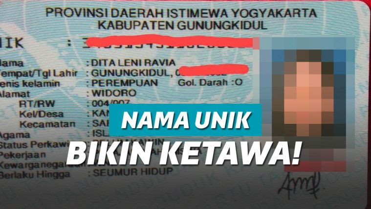 Punya Nama Tak Biasa, Pemilik KTP ini Bikin Orang Jawa Tertawa! | Keepo.me