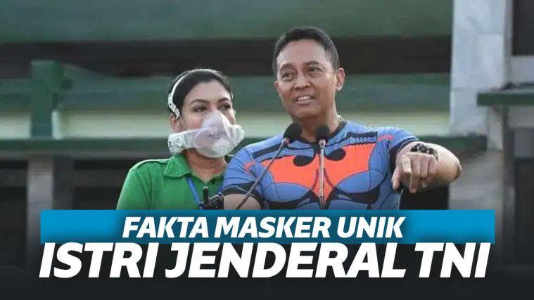 Masker Rp 22 Juta Milik Istri Jenderal KSAD TNI jadi Sorotan, Ini Deretan Keistimewaannya! | Keepo.me