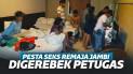 Hendak Pesta Seks, 30 Remaja ABG di Jambi Digerebek Petugas
