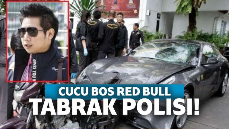 Tabrak Lari Polisi Pakai Ferrari, Cucu Bos Red Bull Dibebaskan | Keepo.me