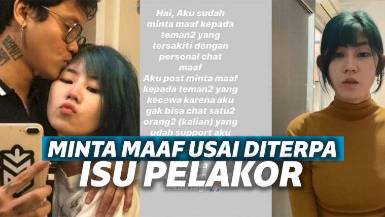 Diduga Jadi Pelakor dan Video di Ranjang Bersama Ericko Lim Tersebar, Listy Chan Minta Maaf | Keepo.me