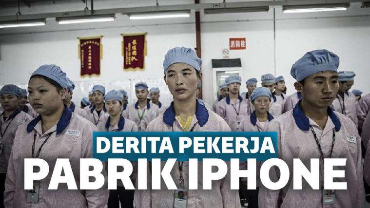 Jauh dari Glamornya Iphone Pro Max, Begini Nih Sedihnya Jadi Buruh di Pabrik Apple Cina! | Keepo.me