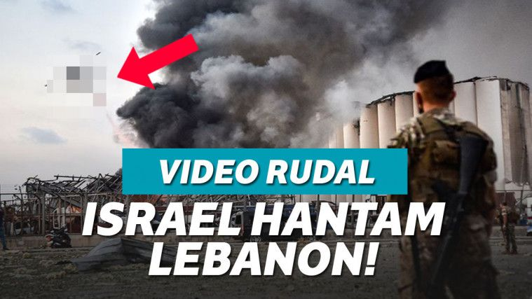 Viral Video Rudal Israel Hantam Lebanon, Asli Atau Editan? | Keepo.me