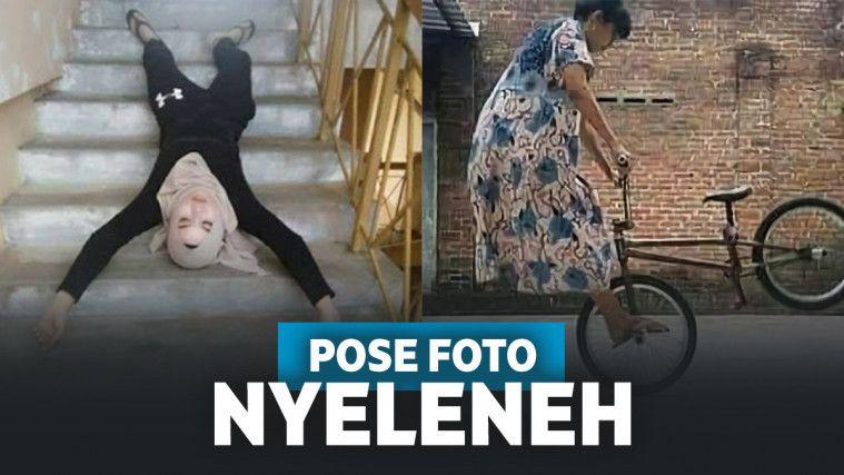 Nyeleneh Banget! 13 Pose Kocak Wanita Saat Foto Ini Bikin Lupa Jati Dirinya | Keepo.me
