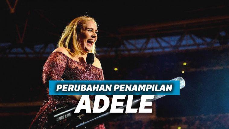 Berubah Drastis, Inilah 8 Potret Penampilan Terbaru Adele yang Sukses Bikin Pangling | Keepo.me