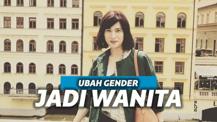 Deretan Foto Desainer Oscar Lawalata, yang Mantab Mengubah Gender Jadi Wanita | Keepo.me
