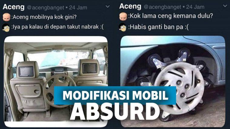 Hobi Bisa Membingungkan, 14 Modifikasi Mobil Nggak Jelas Ini Malah Bikin Ngakak! | Keepo.me