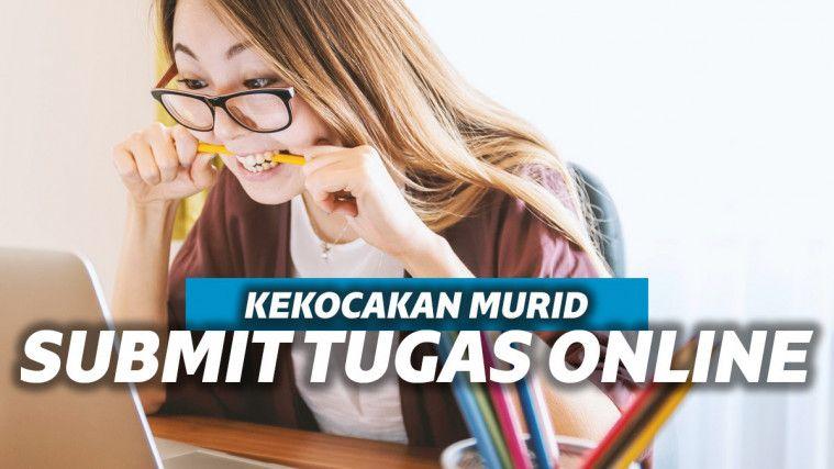 Deretan Pesan Kocak Murid Saat Ngumpulin Tugas Online. Bikin Geleng-geleng Kepala! | Keepo.me