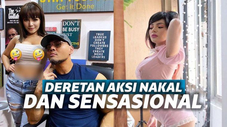 Deretan Aksi Nakal Dinar Candy, Jual Underwear Bekas Hingga Tampil Tanpa Bra | Keepo.me