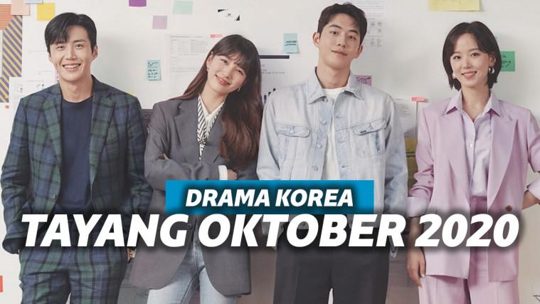Hadir Dengan Berbagai Genre, 9 Drama Korea Ini Siap Tayang Di Bulan Oktober 2020 | Keepo.me