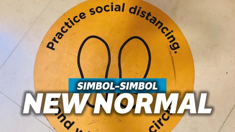 Deretan Simbol di Area Publik Ini yang Wajib Banget Kamu Ketahui Selama Masa New Normal | Keepo.me