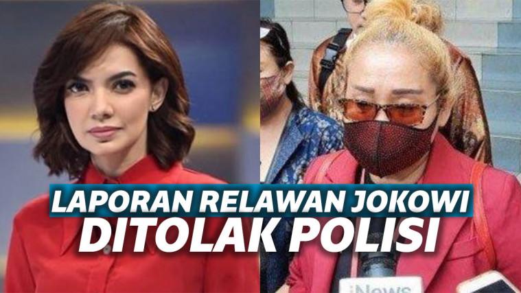 Najwa Shihab dan perwakilan Relawan Jokowi
