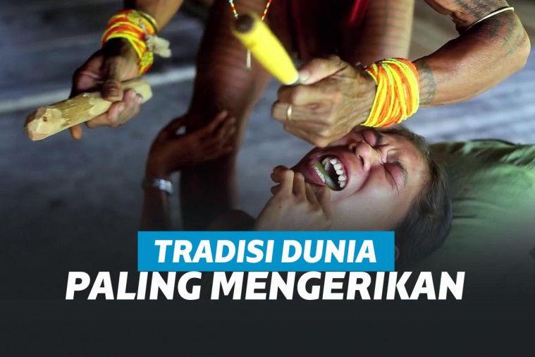 10 Tradisi Paling Mengerikan di Dunia, Sampai Nyawa Taruhannya! | Keepo.me