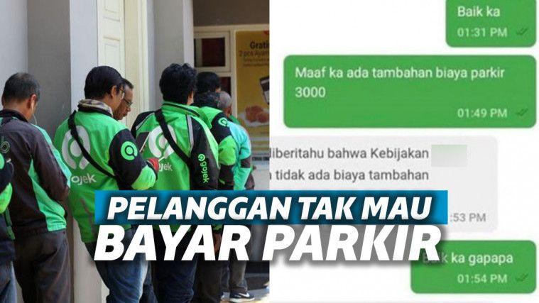 Order Makanan Restoran Mahal Tapi Tolak Bayar Parkir 3 Ribu
